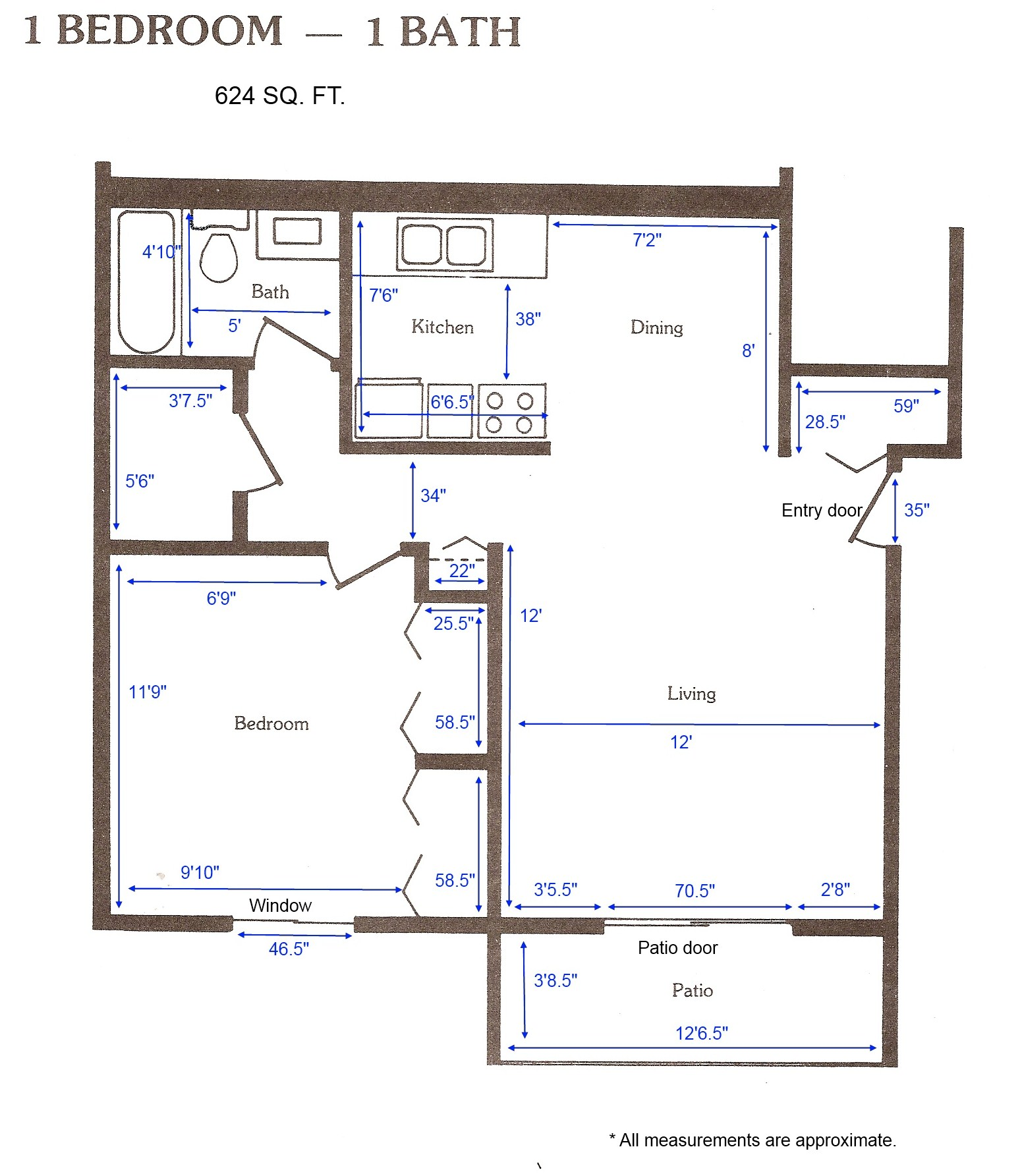 Cedar Green Apartments - Apartment Layouts